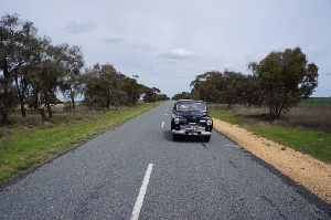 Heading for Lake Boga on the Murray